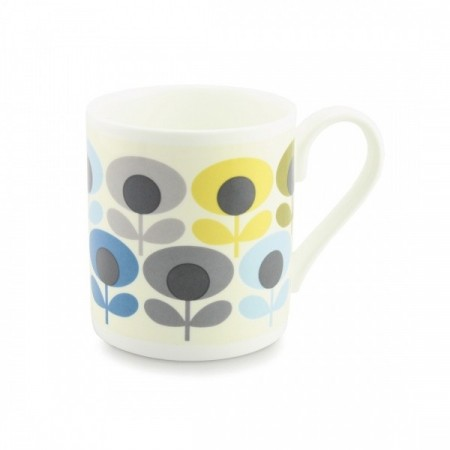 Orla Kiely, Multi Flower Oval Blue