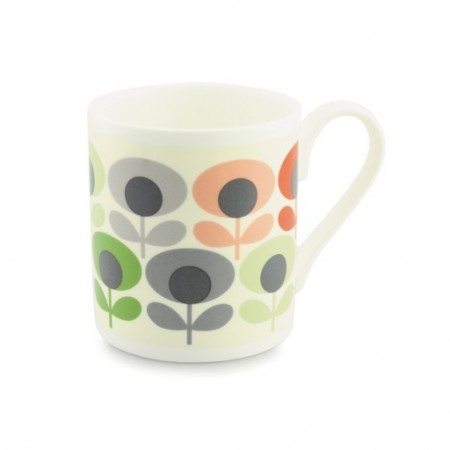 Orla Kiely, Multi flower oval pink