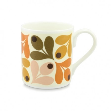 Orla Kiely, multi Acorn-orange